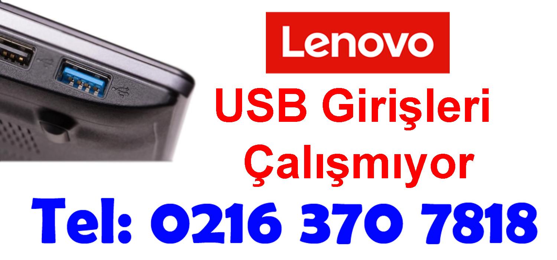 Lenovo Usb Girişleri Çalışmıyor