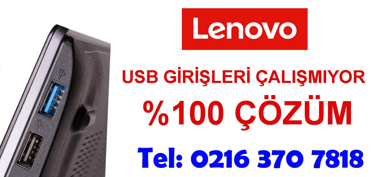 Lenovo Laptop Usb Girişleri Çalışmıyor