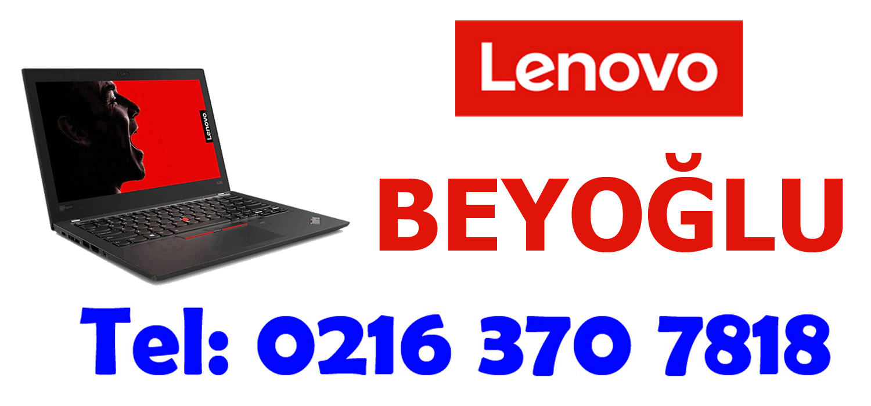 Beyoğlu Lenovo Servisi