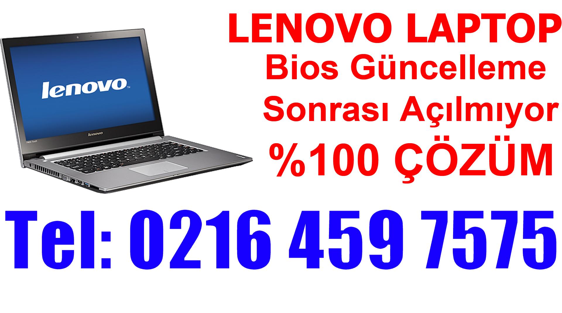 Lenovo Laptop Güncelleme Sonrası Açılmıyor